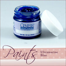 Genesis Paint Ultrmarine Blue 1 oz For Reborn Painting ~ Reborn Doll Supplies