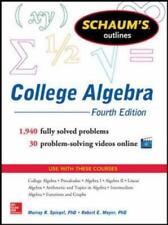 Schaum's Outline of College Algebra, 4th Edition (Schaum's Outlines), Moyer, Rob