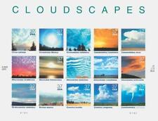 SCOTT  U.S. #3878 2004 37¢ Cloudscapes - SHEET OF 15 STAMPS