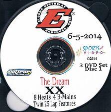 UMP DIRTcar Late Models DVD From Eldora Speedway 6-5+6+7-2014 The Dream
