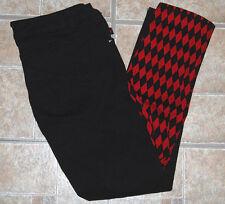 Royal Bones Tripp black red split pants jrs 13 skinny jeans diamond Harley Quinn