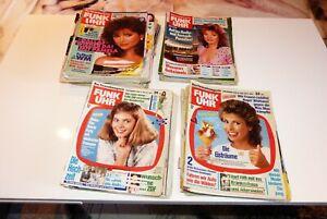 57 Funk Uhr Zeitschriften/Sammlung 80er Jahre
