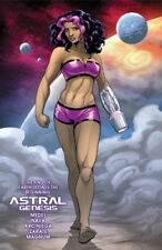 ASTRAL GENESIS (graphic novel): Sci-fi action - Garth Graham cover!  AWESOME!