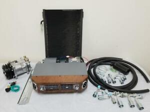 Universal Underdash Air Conditioning AC Evaporator Kit Compressor Hoses Fittings