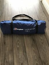 New Berghaus Wind Stop 2000mm Air Tent Camping Collection 6x1.4m WindBreak