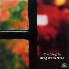 Checking In by Greg Burk (CD, Sep-2002, Soul Note (Italy))