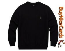 Drake's Octobers Very Own OVO Black Patch Crewneck - Brand New with Tags Size La