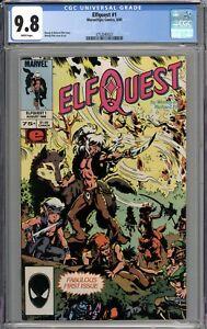 Elfquest #1 CGC 9.8 NM/MT WHITE PAGES