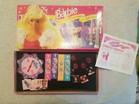 1991 Mattel- Barbie- Queen Of The Prom Board Game. 90's Edition. 100% COMPLETE.