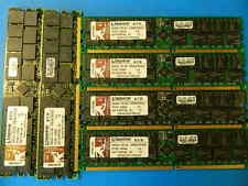 6 Kingston ValueRAM 2GB 333 MHz DDR SDRAM COMPUTER Memory KVR333X64SC25/2G