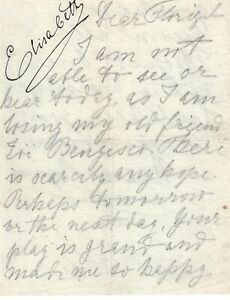 Private letter of the Queen Elisabeth of Romania to Florizel von Reuter RARE