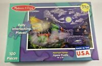 Melissa and Doug Moonlight Express Jigsaw Puzzle 14X19 Inches Sealed