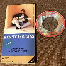 """Promo KENNY LOGGINS Nobody's Fool JAPAN 3"""" CD SINGLE 10EP 3046 Not-snapped FreeS"""