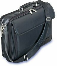 Targus CLN5 Traditional Leather Case for 15.4-Inch Laptops - Black