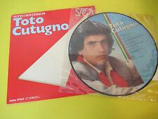 TOTO CUTUGNO TUTTI I SUCCESSI DI LP PICTURE DISC PIC ITALY