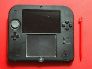Nintendo 2DS Red Crimson Handheld System *Not Working for Parts*