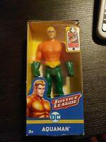 """Aquaman 6"""" Action Figure POSABLE DC Justice League Brand New & Factory Sealed"""