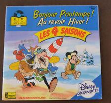 livre disque 45T Disney découvertes
