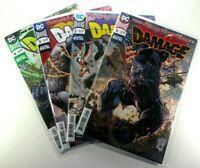 DC Comics DAMAGAE (2018) #1 2 3 4 LOT RUN Dark Nights Metal NM 9.4 Ships FREE!