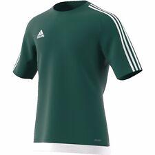 Adidas Estro 15 Jersey Teamwear T-shirt Partita Allenamento Verde scuro Calcio