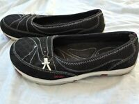 RYKA Womens SLIP-ON style shoes sneakers sz 9 BLACK more listed in my store!