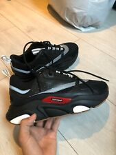 DIOR B22 trainer PRE OWNED EU 42 Black reflected