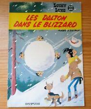 LUCKY LUKE N°22 (DUPUIS, EO 1969) : LES DALTON DANS LE BLIZZARD - MORRIS [TBE]