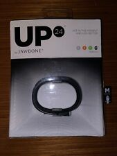 New Up 24 Jawbone Activity Sleep Tracker Fitness Medium Wristband Black Wireless