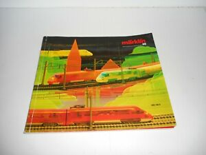 Marklin 1987/88 Catalogue in German. Used condition. wear and tear.