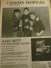 Joan Jett, Full Page Vintage Clipping
