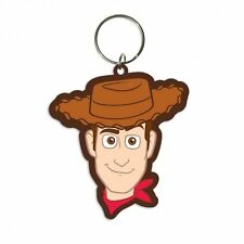 Gummi Schlüsselanhänger TOY STORY - Woody - ca5cm Rubber Keyring NEU 38397