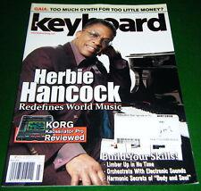 KORG Kaossilator Pro & Roland GAIA SH-01 Reviewed, Herbie 2010 Keyboard Magazine