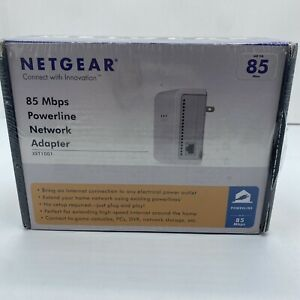 NETGEAR XET1001 85 Mbps Wall-Plugged Ethernet Adapter Brand New Sealed!!!
