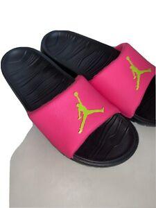 Jordan Break Slide Hyper Pink/Cyber-Black New Without Box