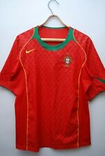 PORTUGAL NATIONAL TEAM 2004 2006 HOME FOOTBALL SHIRT SOCCER JERSEY SIZE M