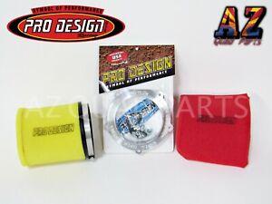 Pro Design Pro Flow Foam Air Filter Intake Kit Yamaha YFZ450 YFZ 450 YFZ450R R X