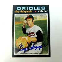 2020 Topps Heritage High Number CLAY DALRYMPLE Real One Autograph Auto ORIOLES