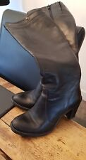 ladies long black boots size 4 G - Star raw