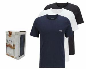 Hugo Boss RN 3 Piece 50325887 984 Crew Neck T-Shirt