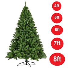 Artificial Christmas Tree Metal Stand Bushy Xmas Tree