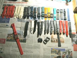 Tissot Twotimer Armbanduhr Ersatz Armband, Kunststoff, Leder/ watch straps