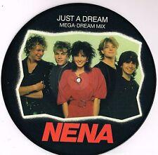 """NENA just a dream U.K. EPIC 10"""" PICTURE DISC E.P. 45rpm_1984 MINT"""