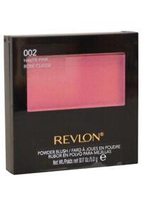 Revlon Powder Blush With Brush 002 Haute Pink