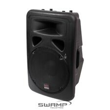 "Repaired Swamp 12"" Powered PA Speaker Active Foldback - Bi-amped 150w 30w RMS"