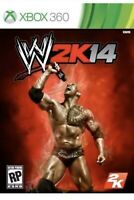WWE 2K14 Xbox 360 Game Wrestling T-kids 2014 The Rock Collectible
