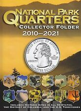 National Park Quarters 2010 - 2021 60 Slot Folder Album Whitman Coin Folder 2883