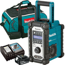 Makita DMR109 10.8v-18v LXT/CXT Job Site Radio + 1 x 4.0Ah BL1840, DC18RC & Bag