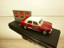 RIO ALFA ROMEO GIULIETTA - MARMITTA ABARTH - RED 1:43 - VERY GOOD on PEDESTAL