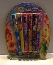 Disney Fairies TinkerBell And The Lost Treasure 6 Ballpoint Pens Pack