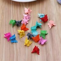 20*/Set Fashion Butterfly Hair Clips Mini Hairpin-Women-Girls Cartoon Claw Clip